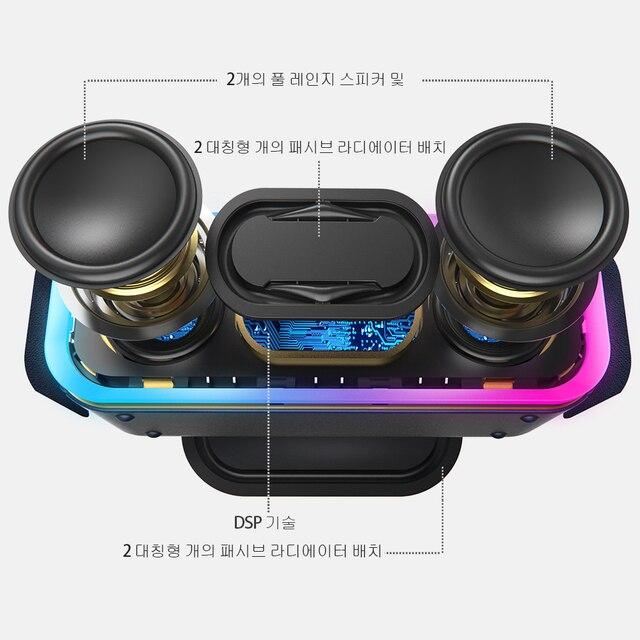 Беспроводная Bluetooth – колонка DOSS SoundBox Pro, 24 Вт.