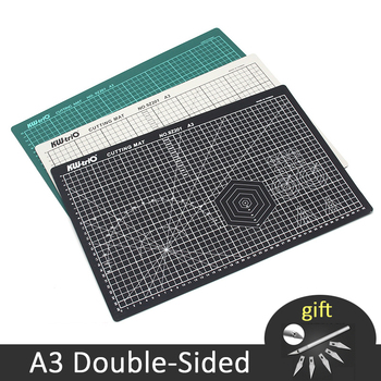 A3 Cutting Mats PVC Double-Sided Self-Healing Paper Cutter Board Patchwork Carving Pad DIY Tools Office Cutting Supplies 1