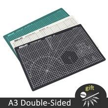 A3 חיתוך מחצלות PVC דו צדדיות ריפוי נייר חותך לוח טלאים גילוף כרית DIY כלים משרד חיתוך ספקי