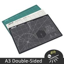 A3 커팅 매트 pvc 양면 자기 치유 용지 커터 보드 패치 워크 조각 패드 diy 도구 사무용 절단 용품