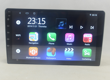9 10.1 inch octa-core 1280*720 QLED screen Android 10 Car GPS radio Navigation