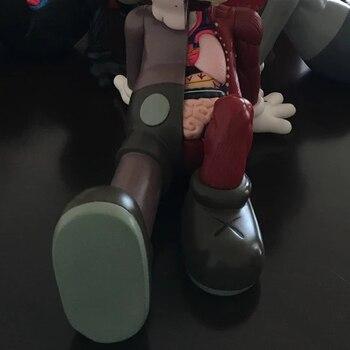 40*23cm Bear Bricklys Companion Resting Place Action Figures Blocks Bears PVC Dolls Collectible Model Toys Decoration недорого