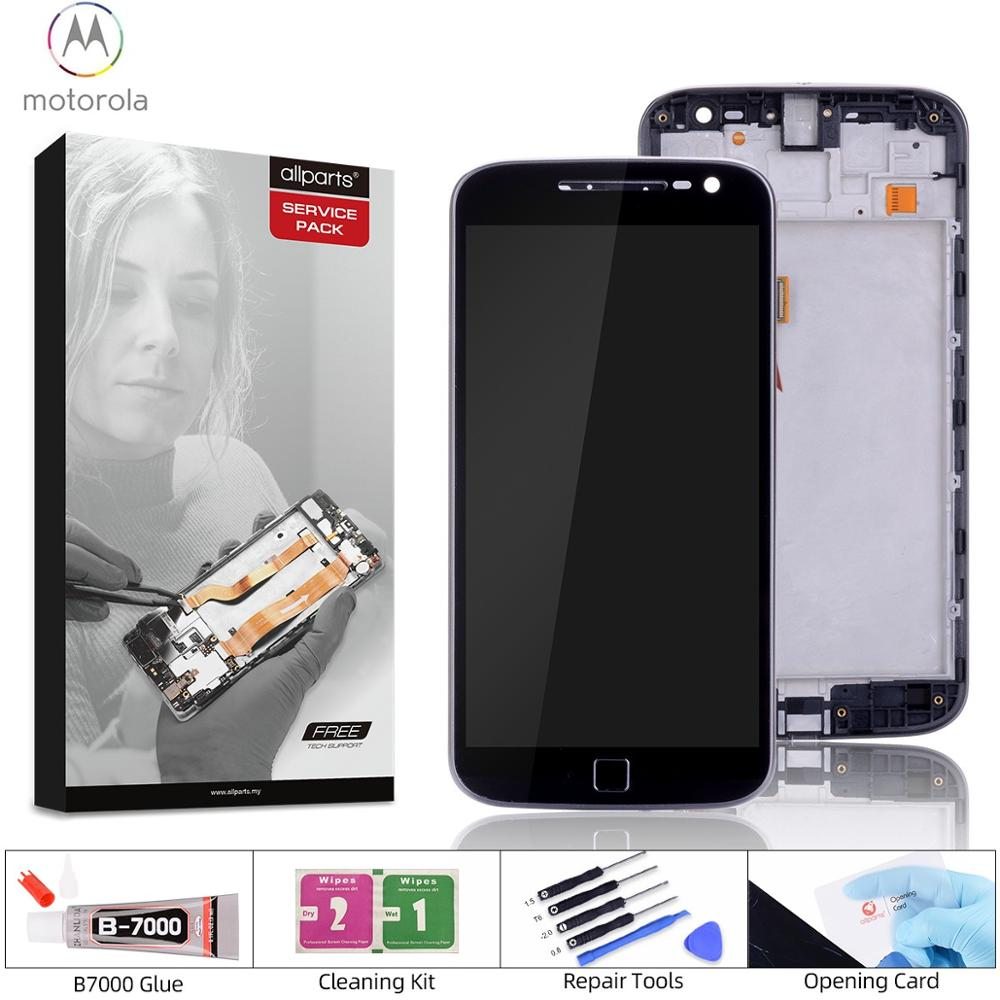 ORIGINAL 5.5 IPS LCD For Motorola Moto G4 Plus LCD Display Touch Screen with Frame Replacement for MOTO G4 LCD Display image