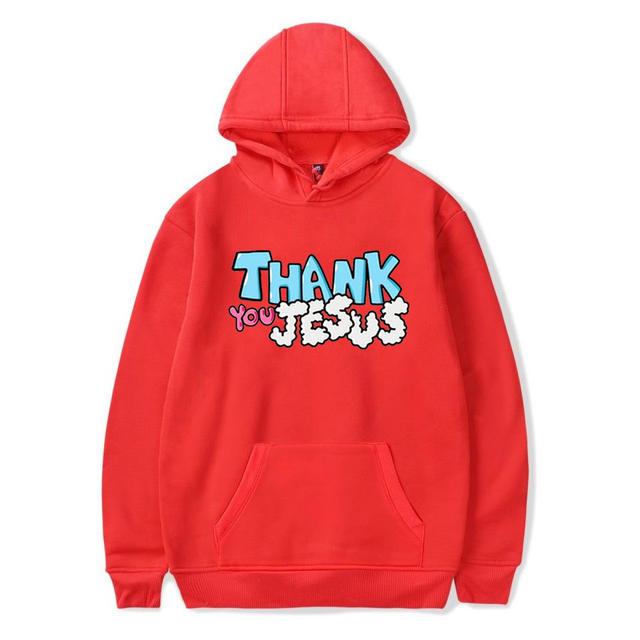 THANK YOU JESUS JUSTIN BIEBER HOODIE (12 VARIAN)
