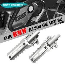 Estribos delanteros de acero inoxidable para motocicleta, estriberas de pie para BMW R1200GS LC R 1200 R1200 GS adv adventure LC 22MM-25MM