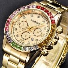 Best Selling Stainless Steel Luxury Star Diamond Inlaid Rhinestone Men Fashion C