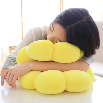 Hot Stuffed Plush Plants Toys Creative Sunflower Soft Sleeping Office Pillow Cushion Toy For Children Birthday Christmas Gifts hamtoys 60cm cotton cushion plush hippo stuffed toys boy girl hippopotami sleeping pillow large soft toy for children kids sa21