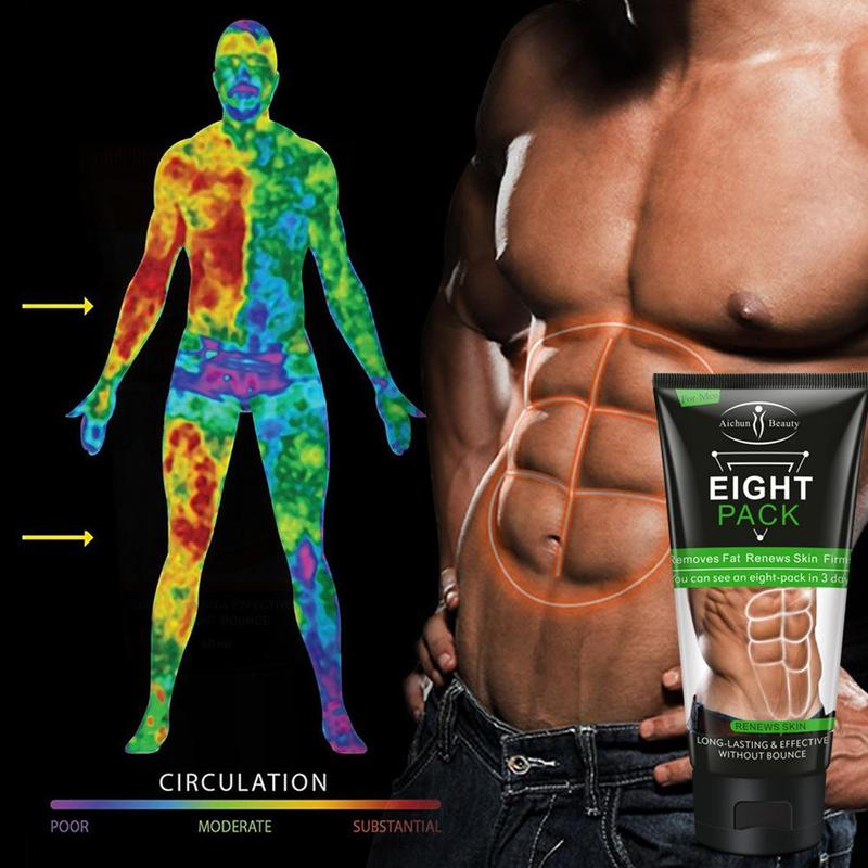 Powerful Stronger Abdominal Muscle Cream Men Strong Anti Cellulite Afvalle Fat Burning Cream Slimming Gel Weight Loss Product