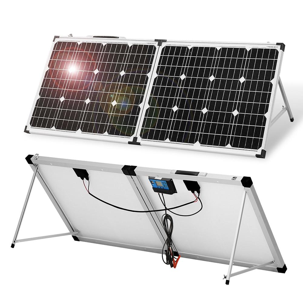 Anaka 100W 12V Solar panel China Solar battery Waterproof Solar Kits Panel Solar For Home/Caravan Solar Cell For Travel Camping|Solar Cells| - AliExpress