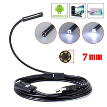 Mini Camera Endoscope HD1200P 5 M soft Flexible Tube Mirco USB Type-C PC Borescope Video Inspection for Android Car Endoscope