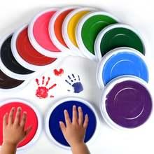 6 шт ручная прокладка для печати коврик моющиеся пальчиковые