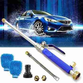 Car High Pressure Power Water Gun Washer Water Jet Garden Washer Spray Sprinkler Cleaning Tool Alloy Wash Tube Hose Auto cleaner 4000psi high pressure spray gun kit dust cleaner car wash tool 5 nozzles 2 hose adapter car cleaning tools domestic delivery