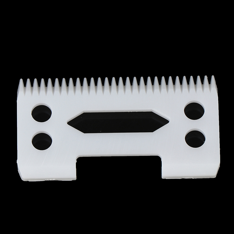 Ceramic Blade Cutter For Magic Clip 2-Hole Clipper Fit Most Hair Clipper Hair Trimmer Beard Blade Hair Removal