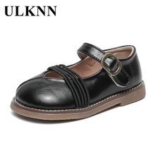 Shoes Footwears Spring ULKNN Girl Kids Children for Solid-Color Fashion Non-Slip Autumn