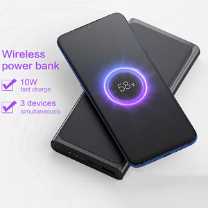 Image 5 - オリジナルxiaomi miワイヤレス電源銀行10000 mahのチー急速充電器powerbank外部バッテリーiphone三星電子xiaomi mi電話