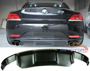 UNPAINTED 3D STYLE FRP REAR DIFFUSER FOR BMW Z4 E89 2009-2013 NORMAL MODEL B246F image