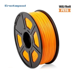Enotepad PETG 3D Filament PETG 1kg 1 75mm  3D Printer Filament With  Spool  3D Printer Accessories For 7 Color Available