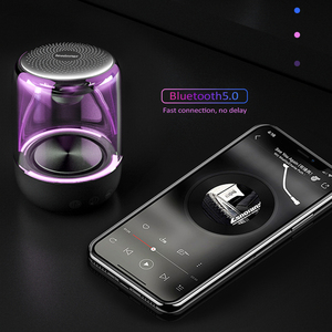 Image 5 - Lewinner C7 Bluetooth V5.0 Wireless Speakers HiFi Stereo Column Portable Speaker Romantic Colorful Light with Microphone