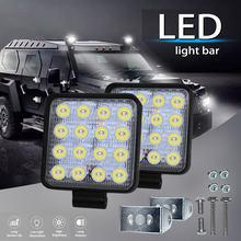 Светодиодный фонарь 27 Вт 42 48 4x4 рабочее освещение для внедорожников
