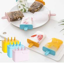 Popsicle-Box Kit-Supplies Made-Ice-Cream-Mould Creative Home-Use Summer DIY for Four-Grid