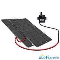 3W 5W Solar Water Pump Brushless Motor Solar panel pump 12V for pond/Pool Garden/Solar Poum Kit /solar pond pum 1