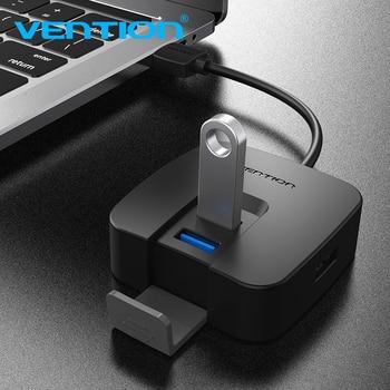 Vention USB HUB High Speed 4 porty USB 3.0 Hub Splitter przenośny OTG Hub USB 2.0 dla Macbook Air Laptop PC Tablet usb Adapter