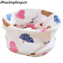 Г. Осенне-зимний детский шарф-кольцо, детский хлопковый шарф для девочек и мальчиков, воротник-хомут, Bufandas, детский шейный платок, теплый детский шарф