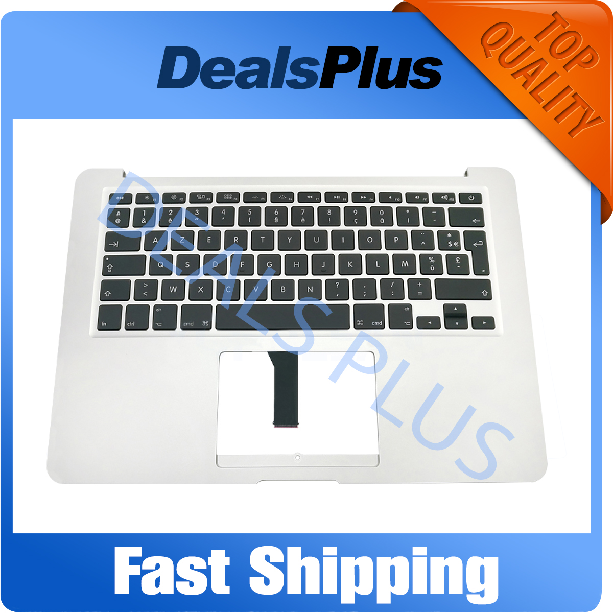 New TopCase top case palmrest with AZERTY FR French Keyboard For MacBook Air 13.3