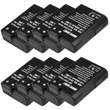 Оптовая продажа мА/ч. аккумулятор EN-EL14 RU EL14 RU EL14a EN-EL14A Батарея пакет для Nikon D3100 D3200 D5100 D5200 DF P7000 P7100 P7200