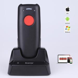 Image 1 - Scanhero usb portatile mini portatil bluetooth senza fili 1D di codici a barre CCD portatile di codici a barre scanner per IOS Android Finestre
