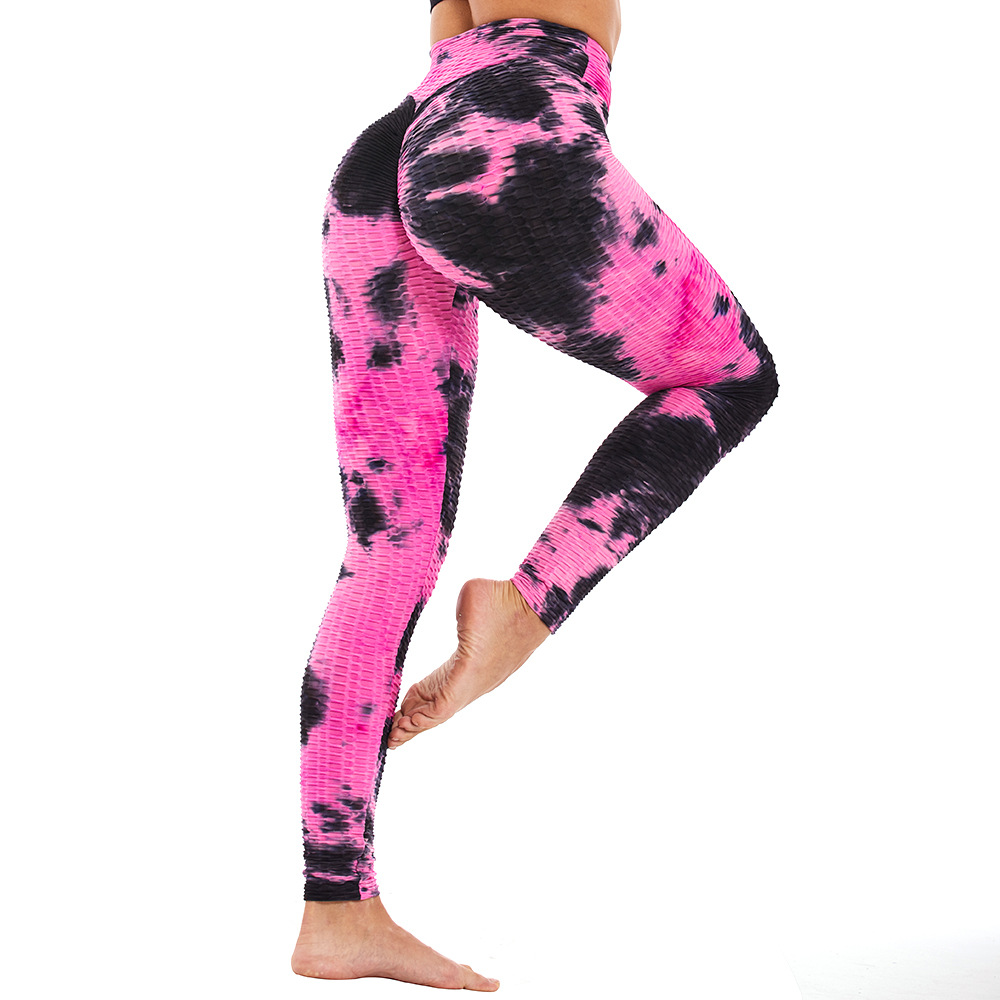 High Waist Yoga Pants Scrunch Butt Leggings Sport Women Slim Fitness Clothing Workout Workout Tops For Women Plus Size Gym image