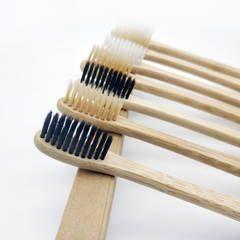 10Pcs Toothbrush Soft Bristle Wooden Tooth Brush Natural Bamboo Handle Dental Oral Care Eco Friendly Travel Tooth Brush 1