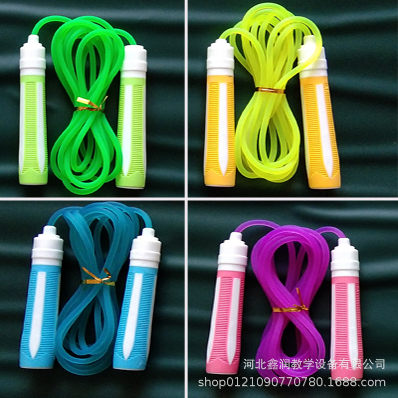 Children Jump Rope Young STUDENT'S Beginners Adjustable Jump Rope Students Jump Rope Toy Plastic Young STUDENT'S Jump Rope