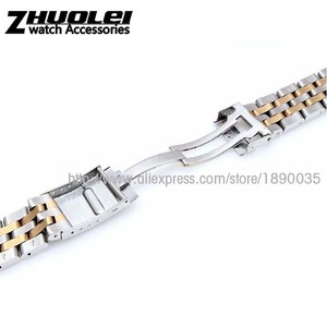 Image 4 - 22mm 24mm High Quality Solid Stainless Steel Watch Bracelet for mens  Breitling watch band