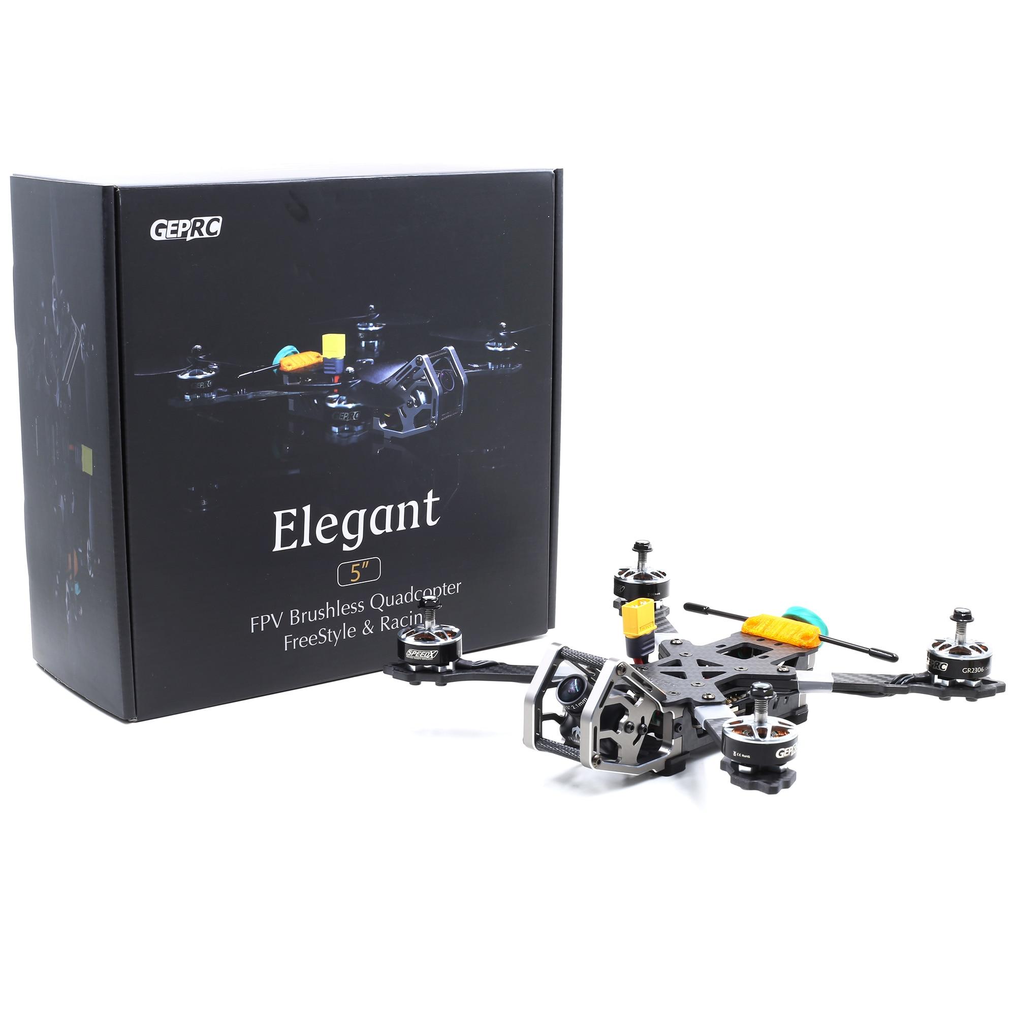 Nouveau gerpc GEP-KX5/KHX5 élégant PNP/BNF 230mm kit de cadre d'empattement pour RC FPV course Drone quadrirotor