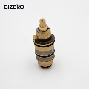 Термостатический клапан с картриджем медный латунный термостат с контролем температуры смеситель для душа замена картриджа ZR990