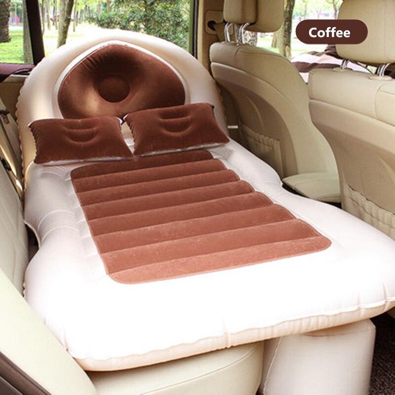 135X80X10cm Camping coche cama colchón Para coche cubierta Para asiento trasero de coche colchón de aire cama de viaje Para SUV Colchon Inflable Para Auto Fundas elásticas de Spandex con estampado geométrico, fundas de asiento multifuncionales para sillas, fundas de asiento para banquetes de Hotel y bodas