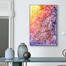 Современная Абстрактная живопись маслом на холсте с изображением