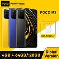 Глобальная версия POCO M3 Смартфон Snapdragon 662 4 Гб 64 ГБ/4 ГБ 128 6,53
