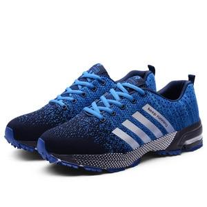 Image 5 - 2019 neue Männer Casual Schuhe Atmungsaktive Laufschuhe Männer Mode Sommer Männer Vulkanisieren Schuhe Große Größe tenis masculino 35  48
