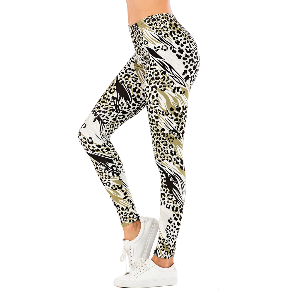 Brand Fashion Woman Pants Sexy Women Legging Leopard Print Fitness Leggins Slim Legins Soft And Stretchy Leggings