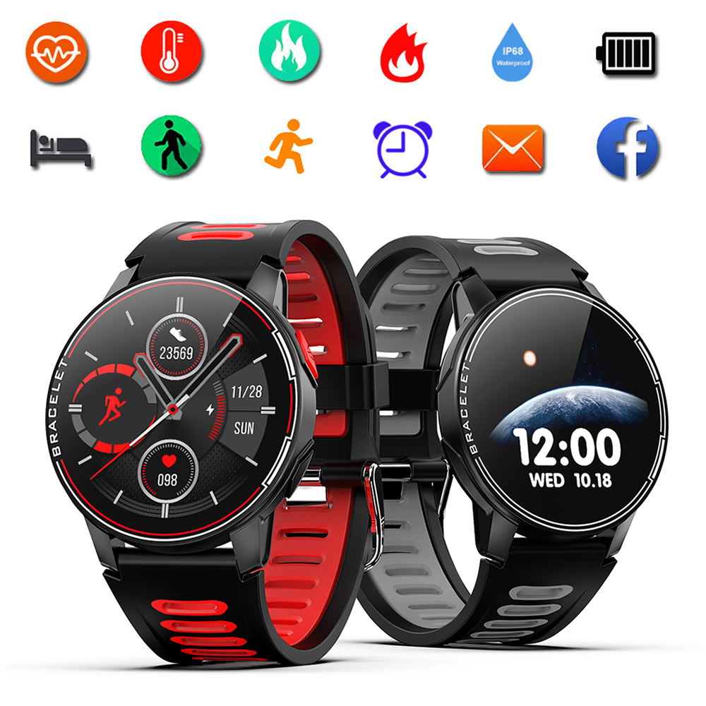 SENBONO S20 Smart Watch IP68 Waterproof Bluetooth 5.0 Fitness Tracker Smart Bracelet Heart Rate Monitor Smartwatch IOS Android