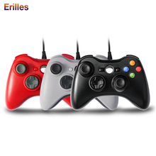 цена на for XBOX 360 Gamepad Wired Controller USB Cable Joystick for Microsoft XBOX 360 Console Game Control For PC XBOX360 Joypad
