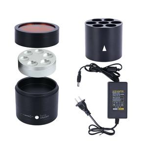 Image 5 - Dental 12V DC Composite Heater AR Heater Composite Resin Heating Composed Material Warmer Dentist Equipment With US&EU Plug