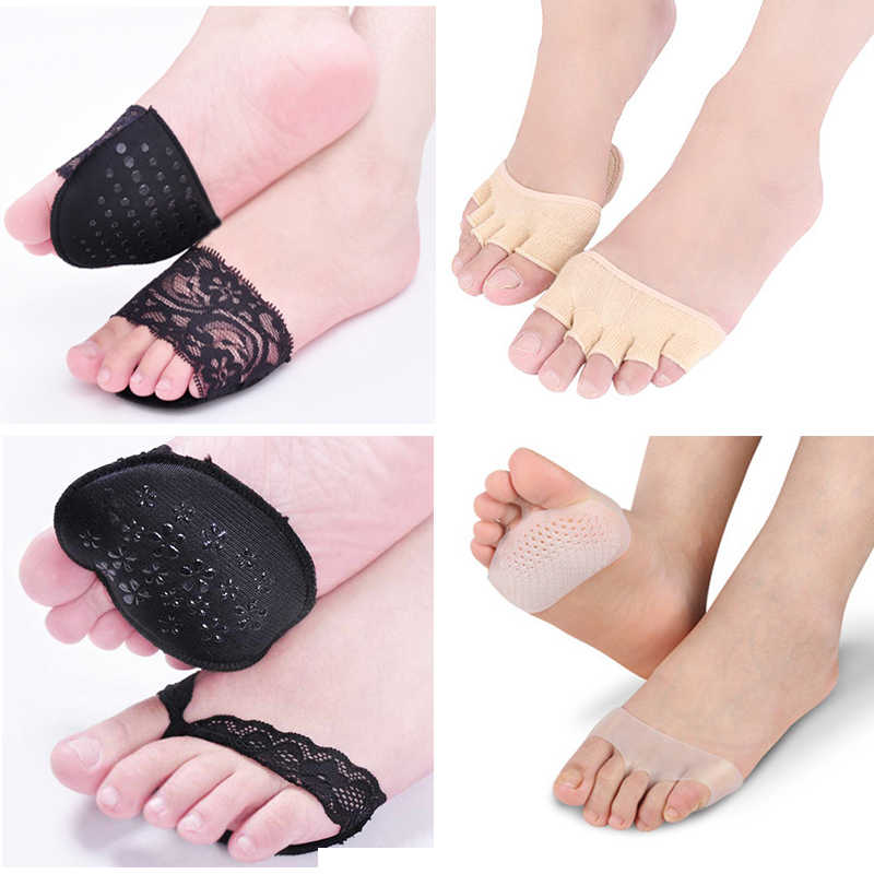 Rubber Anti Skid Honeycomb Forefoot Insoles Silicone Forefoot Insoles GN