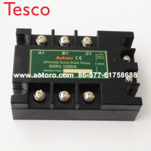 Solid state relay SSR3-100DA 100A three phase electrical relays 100a 24v meigeer 100a ssr 100da three phase solid state relay jgx 032 mgr 3 032 38100z