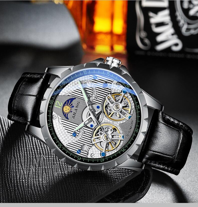 Купить ailang новинка 2019 оригинальные мужские механические часы автоматические