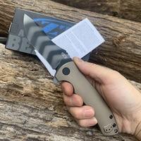 Zero Tolerance ZT0920 EDC Folding Knife titanium alloy handle built in flat ball bearing gasket Hunting Knife