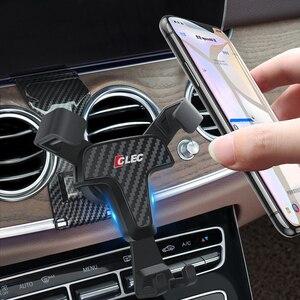Image 1 - Держатель для Mercedes Benz E Class W213 2017 2018, держатель для телефона с креплением на вентиляционное отверстие для Mercedes Benz E CLASS 2019