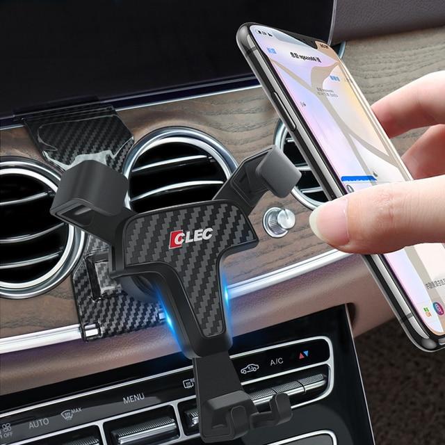 Держатель для Mercedes Benz E Class W213 2017 2018, держатель для телефона с креплением на вентиляционное отверстие для Mercedes Benz E CLASS 2019